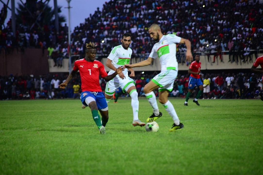 Éliminatoires CAN 2019 : L'Algérie concède le nul face à la Gambie (1-1) et finit en tête du groupe D