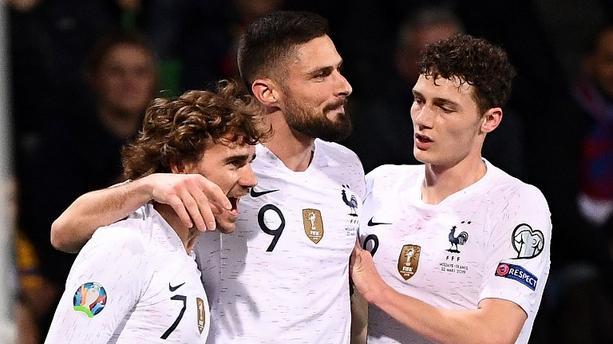"""France - Moldavie : Giroud marque son 34e but et devient le 3e meilleur buteur des """"Bleus"""""""