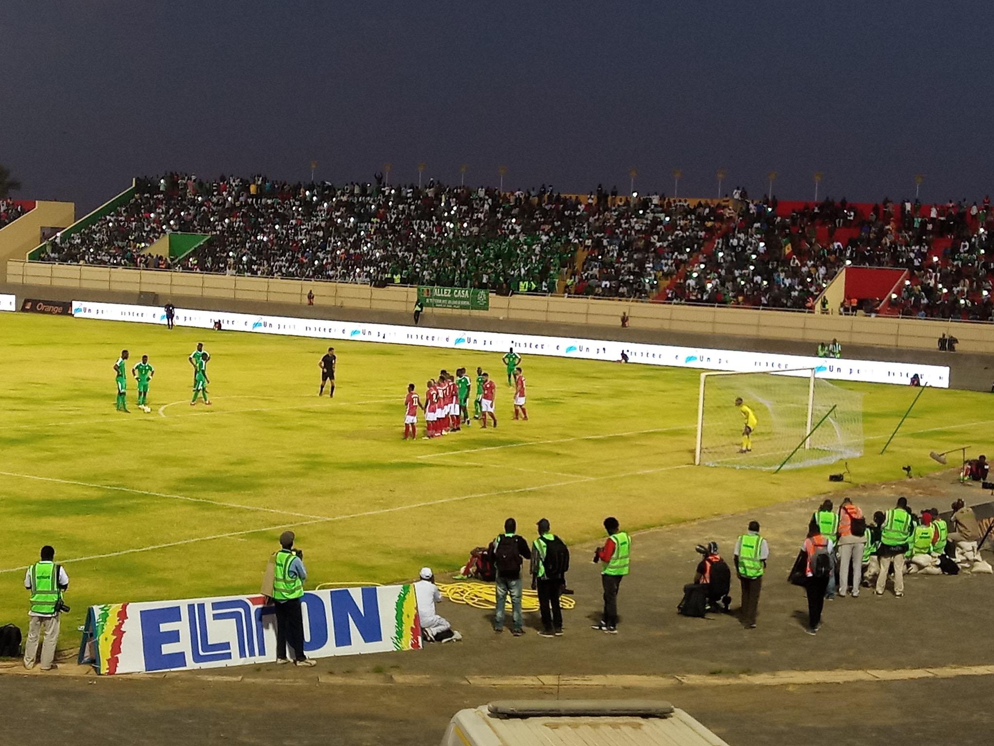 Le Sénégal mène 1-0 à la mi-temps contre Madagascar grâce à un but de Mbaye Niang