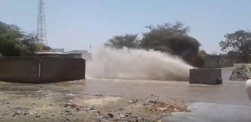 Fuite sur la conduite principale : Bizarrerie autour d'une pénurie d'eau annoncée