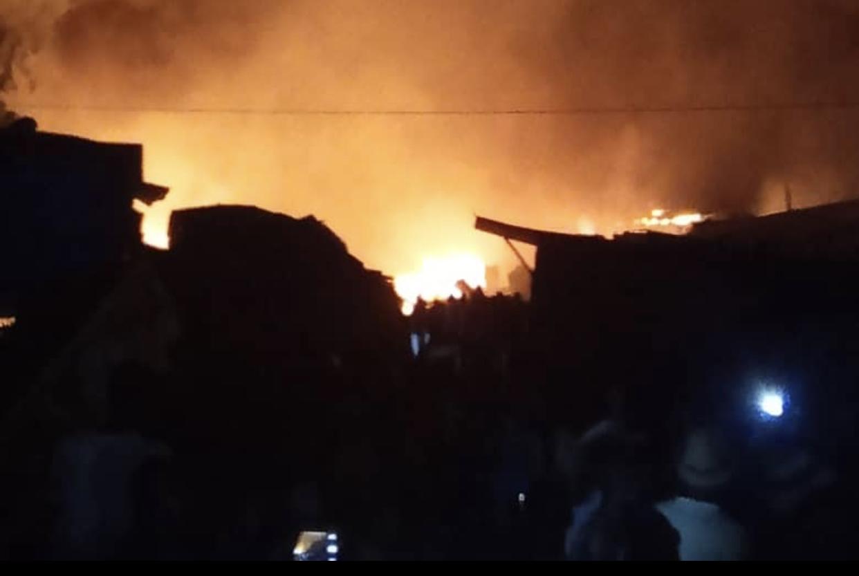 Incendie du marché central de Tambacounda : Les sapeurs-pompiers sont arrivés à bout des flammes vers 23h