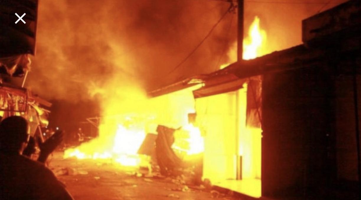 Incendie du marché central de Tamba : Les premières mesures tombent