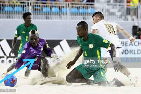 Décès de Abdoul Karim Samba, jeune gardien international du Beach Soccer