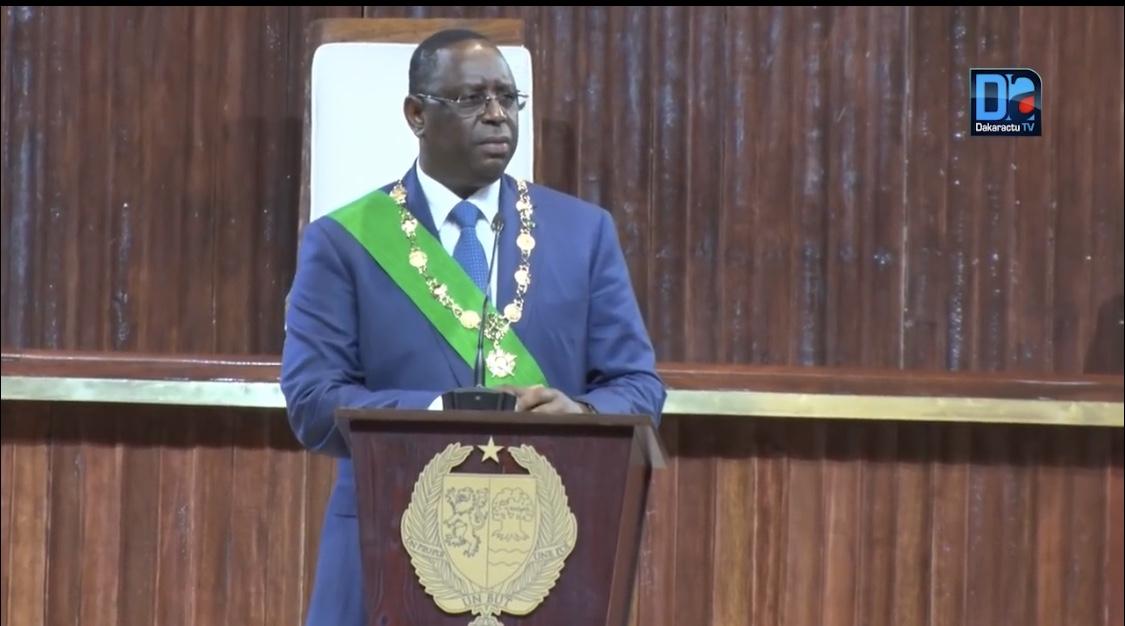 Discours d'investiture du Président Macky Sall à l'occasion de sa cérémonie de prestation de serment.