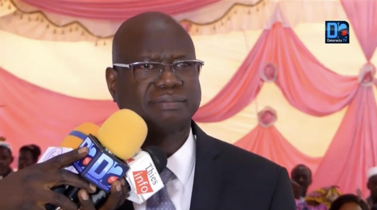 Gouvernement : Augustin Tine ministre, directeur de cabinet du président.