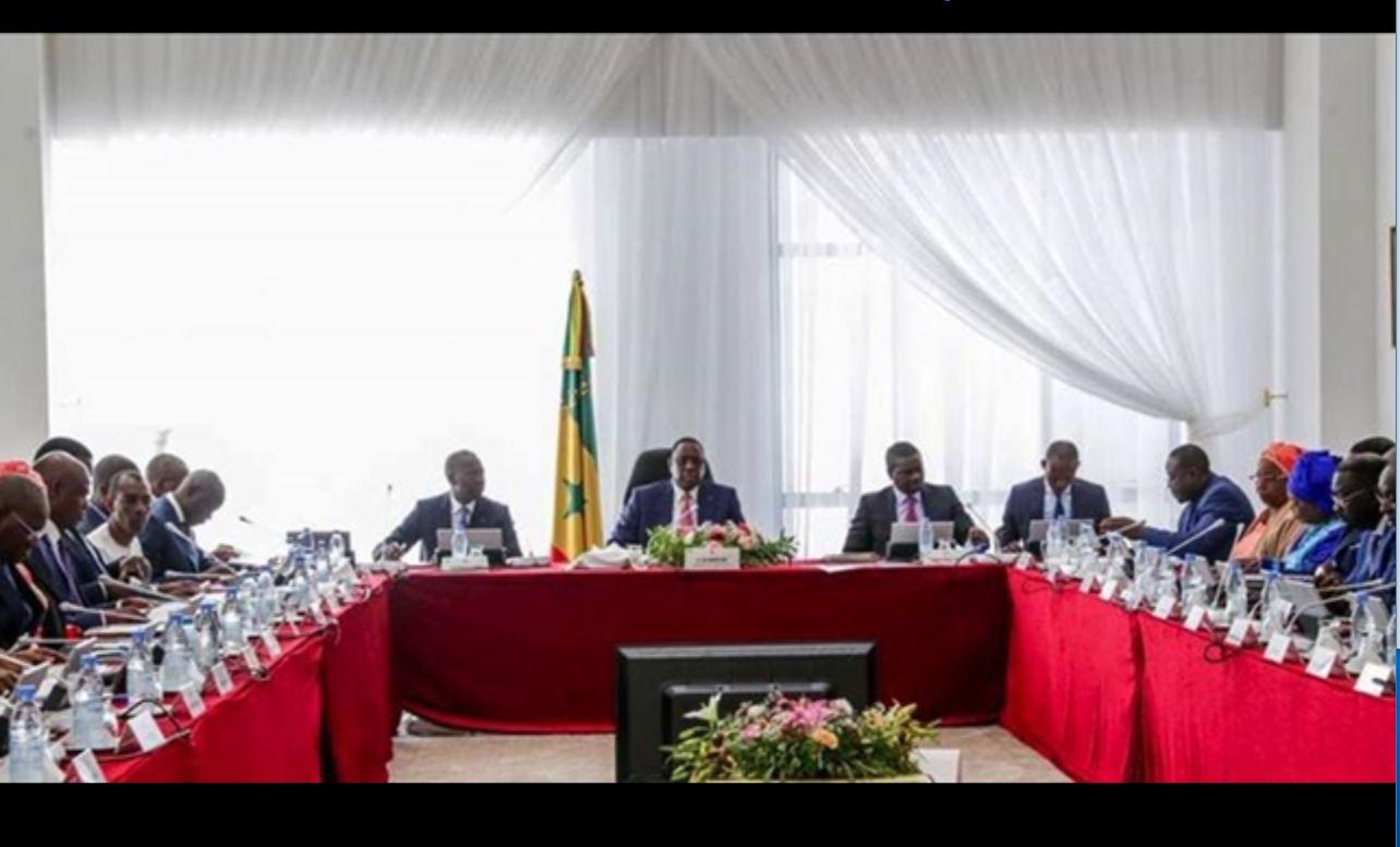 Macky 2 : Conseil des ministres de rentrée pour les nouveaux et de retour pour d'autres