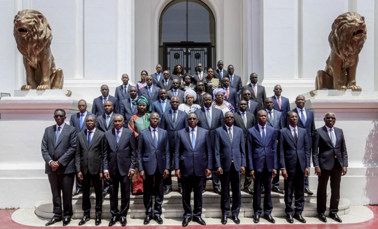 Macky 2 : Voici la photo de famille du nouveau gouvernement