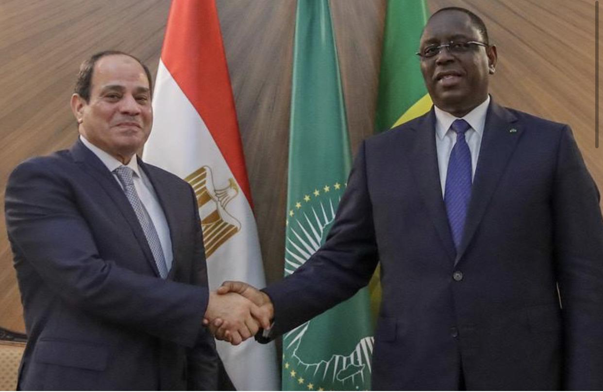 Visite officielle du président Égyptien au Sénégal : Les deux pays décidés à renforcer leur coopération