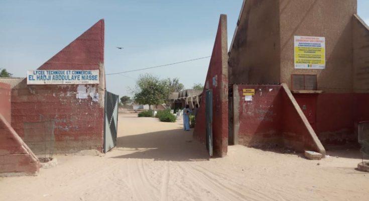 Lycée technique et commercial de Kaolack : Les élèves boycottent les cours pour exiger le paiement de leurs bourses