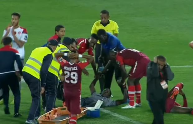 Ligue des champions Africaine : Khadim Ndiaye victime d'une double fracture tibia-péroné