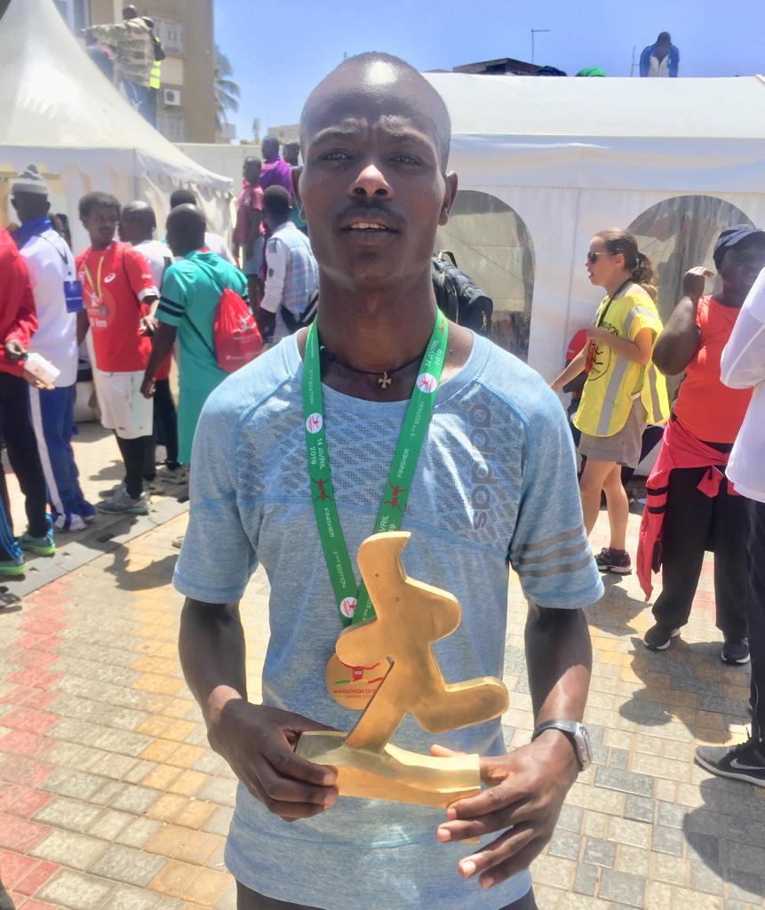Athlétisme : L'éthiopien Hirbo Shano remporte le marathon Eiffage Dakar 2019
