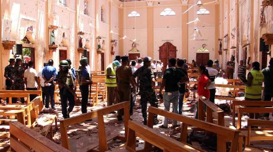 Sri Lanka : au moins 156 morts, dont 35 étrangers, après six explosions dans des hôtels et des églises