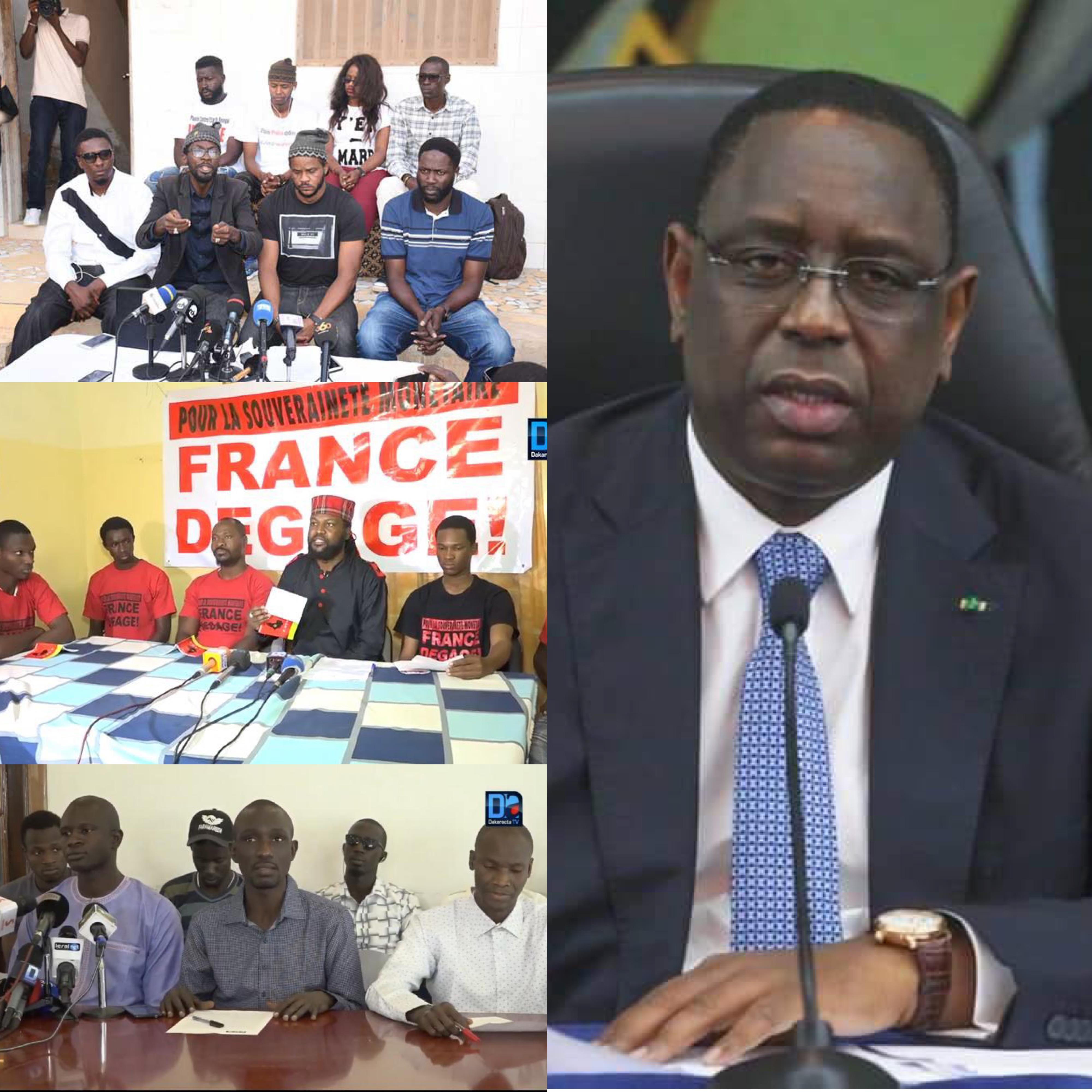Réforme constitutionnelle : ''Y en a marre'', FDS et Frapp France dégage font bloc contre le projet de suppression de la primature