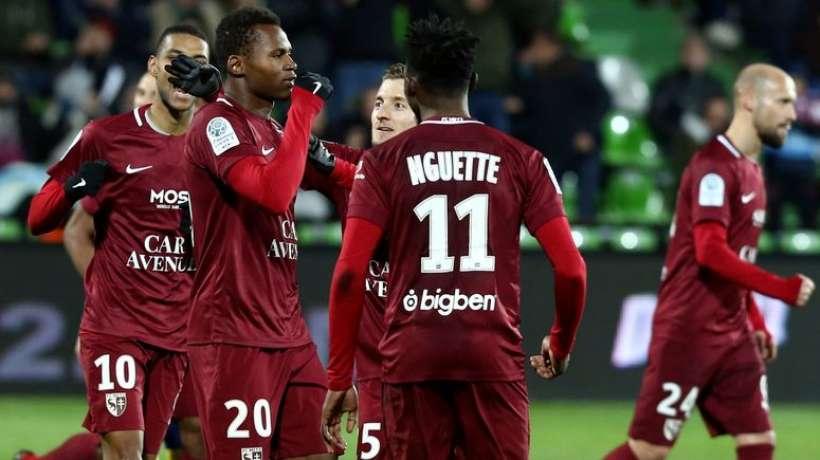 Metz - Red Star (2-1) : Habib Diallo et Opa Nguette offrent la montée  aux Messins