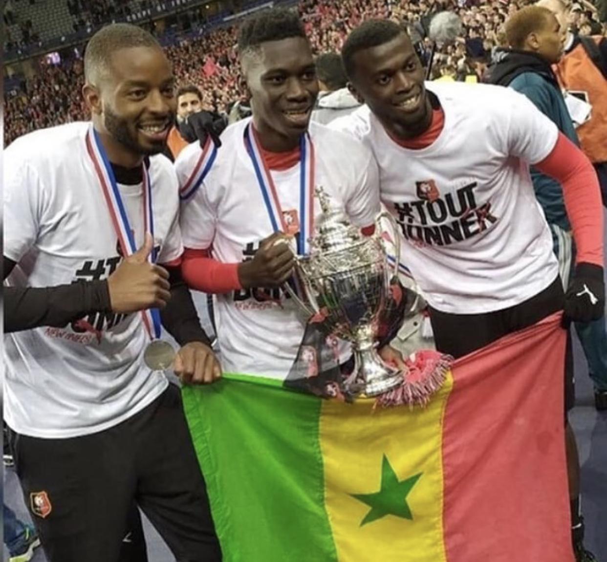 Mbaye Niang, Ismaïla Sarr et Abdoulaye Diallo dans le cercle fermé des sénégalais vainqueurs de la Coupe de France