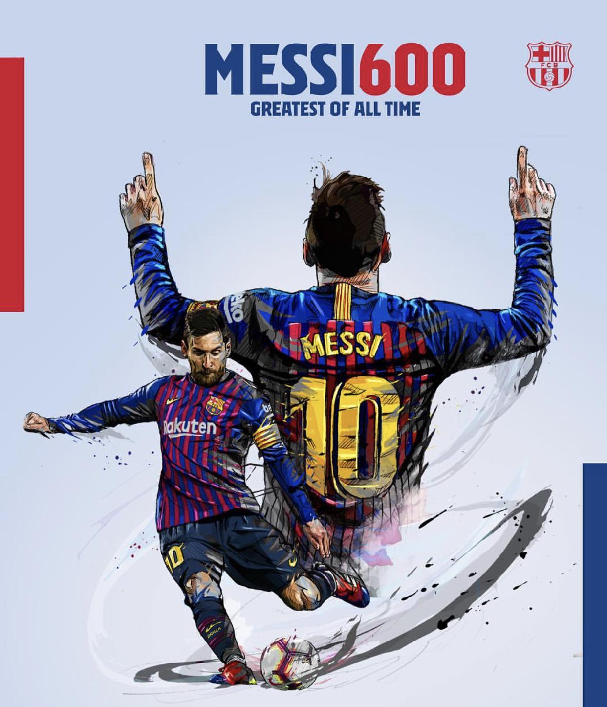1 mai 2005 - 1 mai 2019 : 14 ans plus tard, Lionel Messi marque son 600 ème but avec le Barça