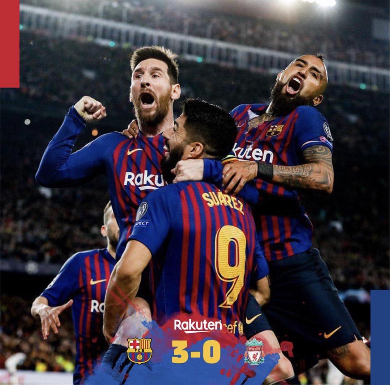 LDC / Demi-finales aller : Lionel Messi et le Barça donnent une leçon de foot à Liverpool (3-0)
