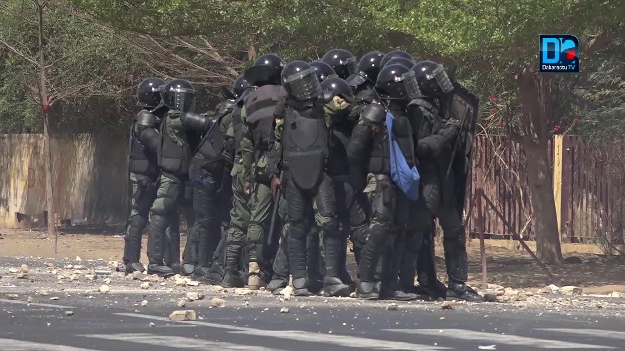 Affrontements entre étudiants et personnel de l'Ussein : 2 blessés enregistrés du côté des étudiants