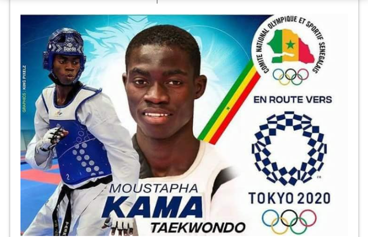 Taekwondo : Le sénégalais Moustapha Kama numéro 1 mondial !