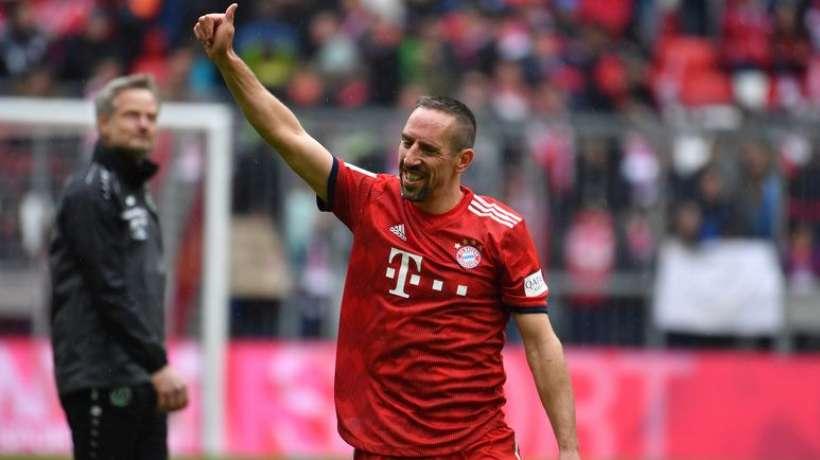 Bundesliga : Franck Ribery quitte le Bayern Munich
