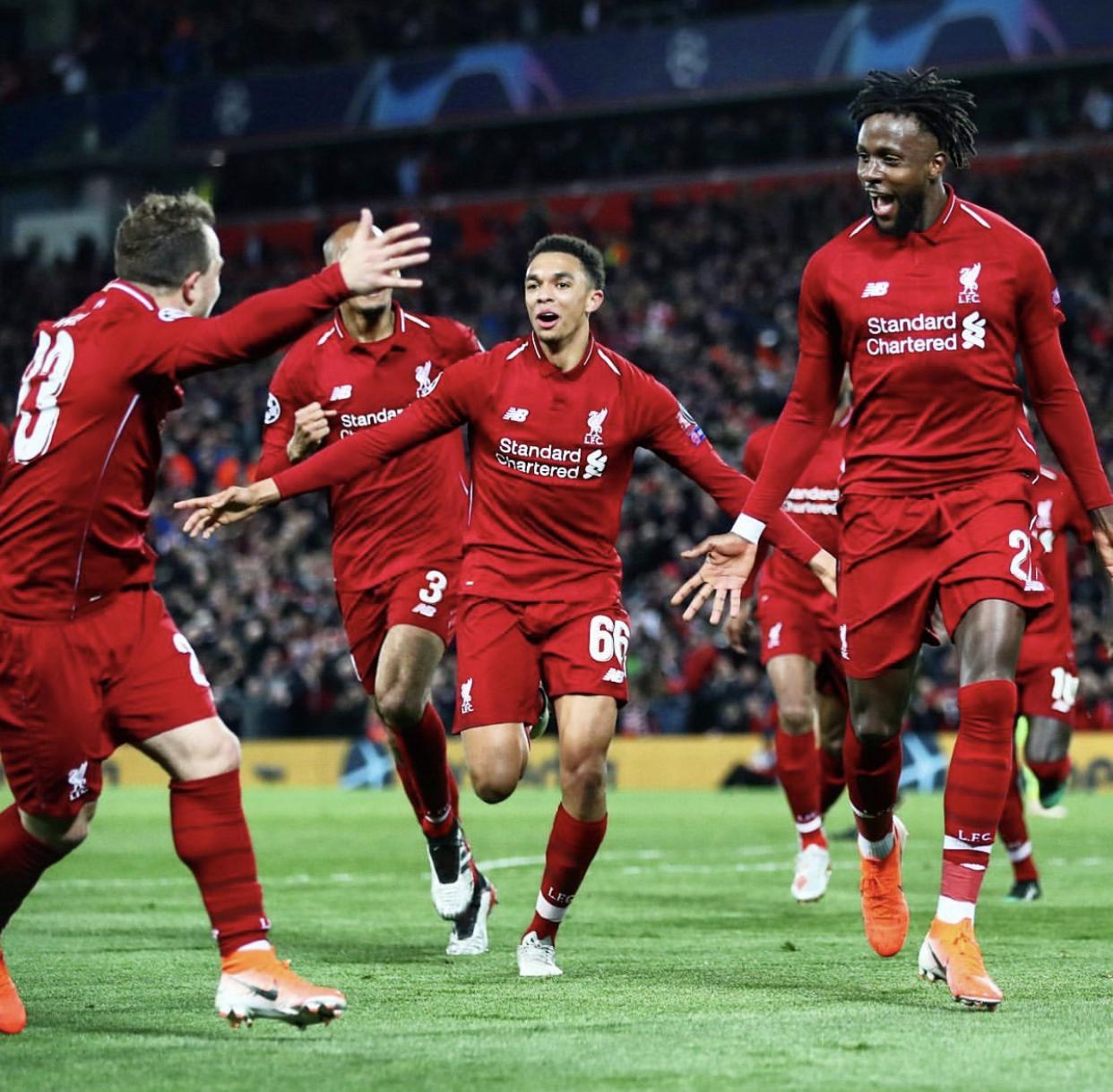 """Liverpool réussi le """"come-back"""" devant le Barça battu 4-0 et se qualifie en finale !"""