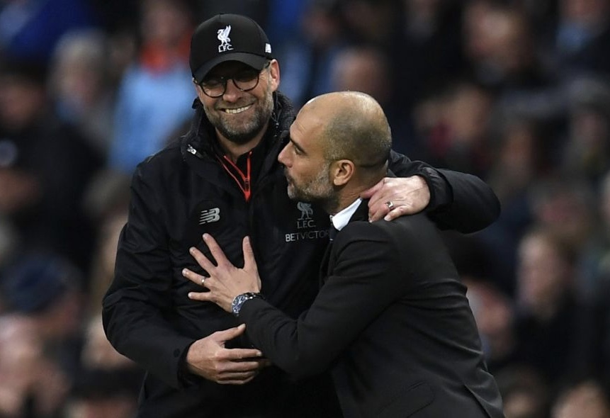Angleterre : Jürgen Klopp et Guardiola en compétition pour le titre de meilleur coach