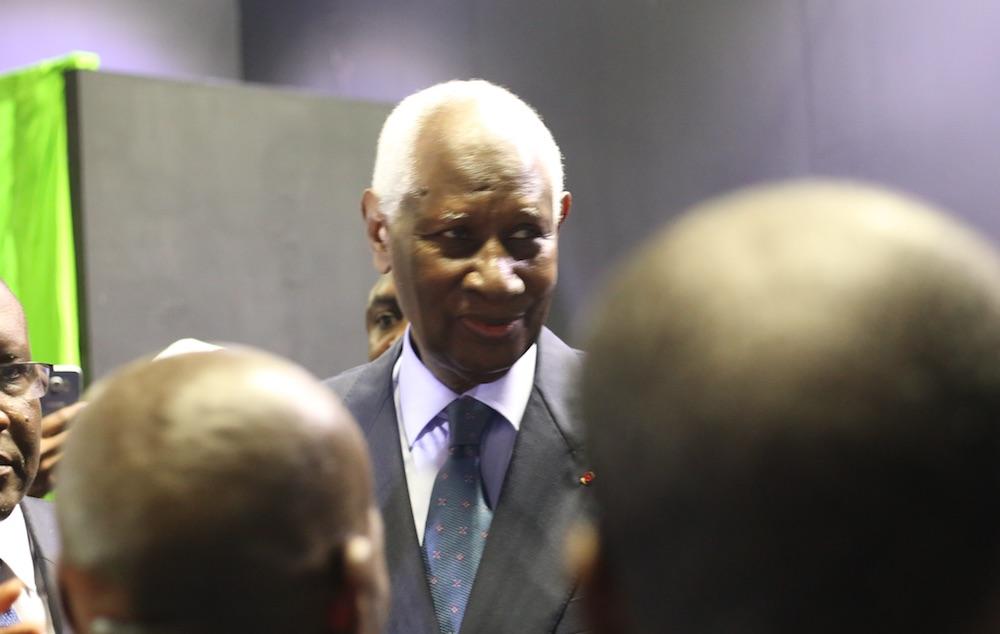 Paris : El Hadj Ousseynou Diouf rend visite au président Abdou Diouf