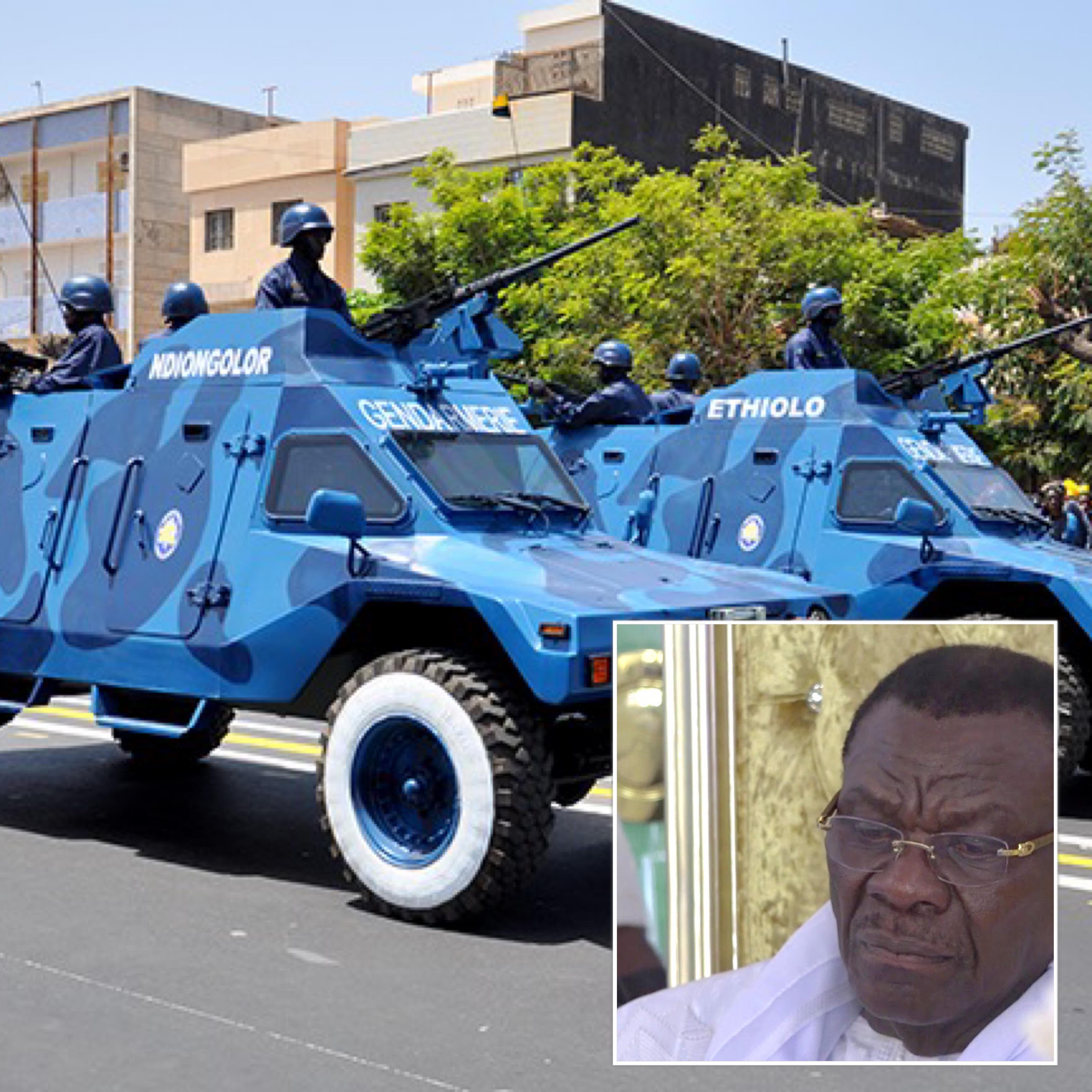 AXE AIBD-MÉDINATOUL SALAM- TOUBA/ La gendarmerie nationale en alerte maximale pour parer à toute velléité de troubles