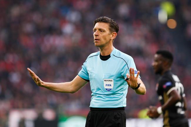 Finale ligue Europa : L'UEFA dévoile l'équipe arbitrale, Gianluca Rocchi au sifflet