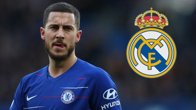 Mercato : Eden Hazard va rejoindre le Real Madrid pour 100 millions d'euros.
