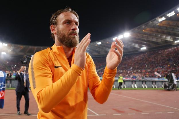 Italie : Après 18 ans passés au club, De Rossi quitte l'AS Roma pour la MLS