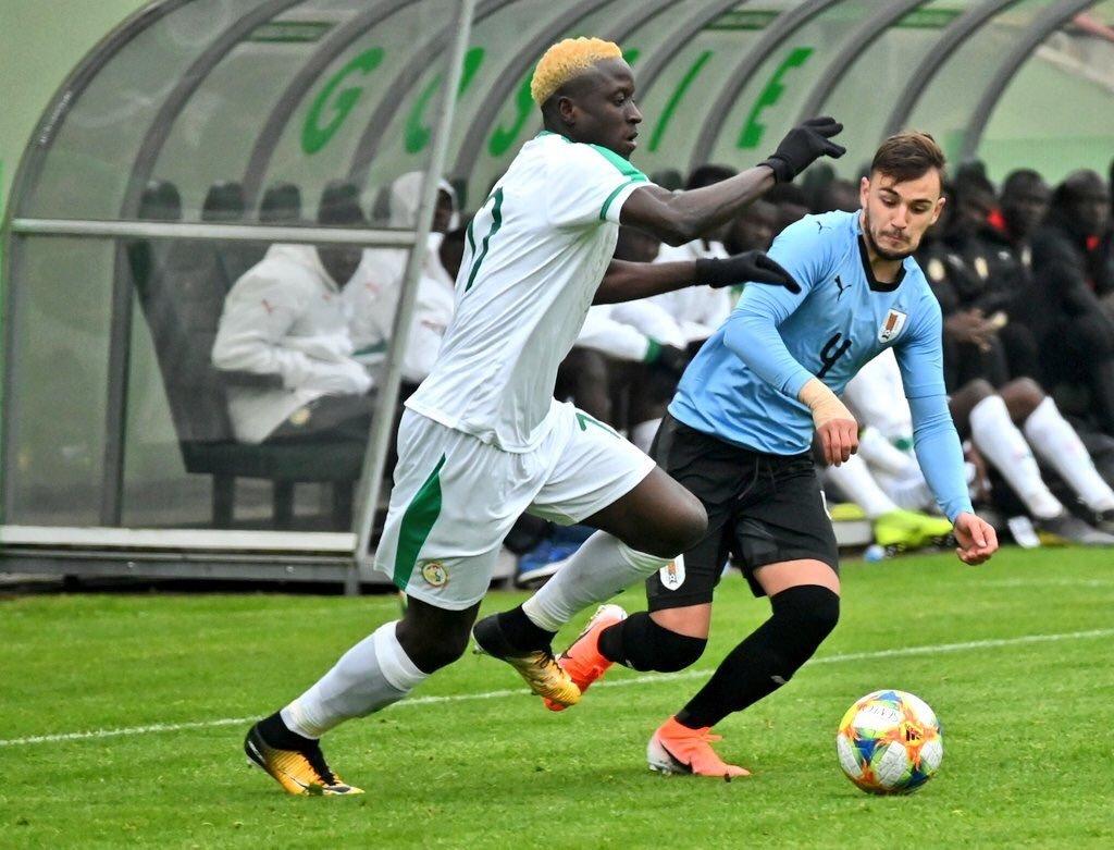 Amical : L'équipe nationale U20 du Sénégal battue par l'Uruguay (2-1)