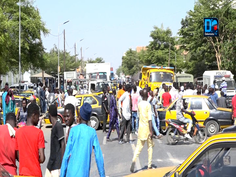 Tribunal de kaolack : 6 mois dont 2 mois ferme requis contre les 4 chauffeurs de Taxi