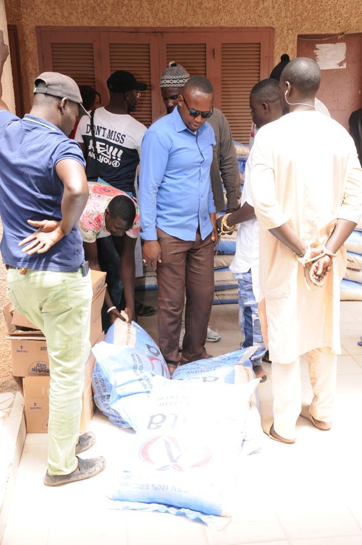 Grand-Yoff : Fatoumata Niang Ba distribue des denrées alimentaires