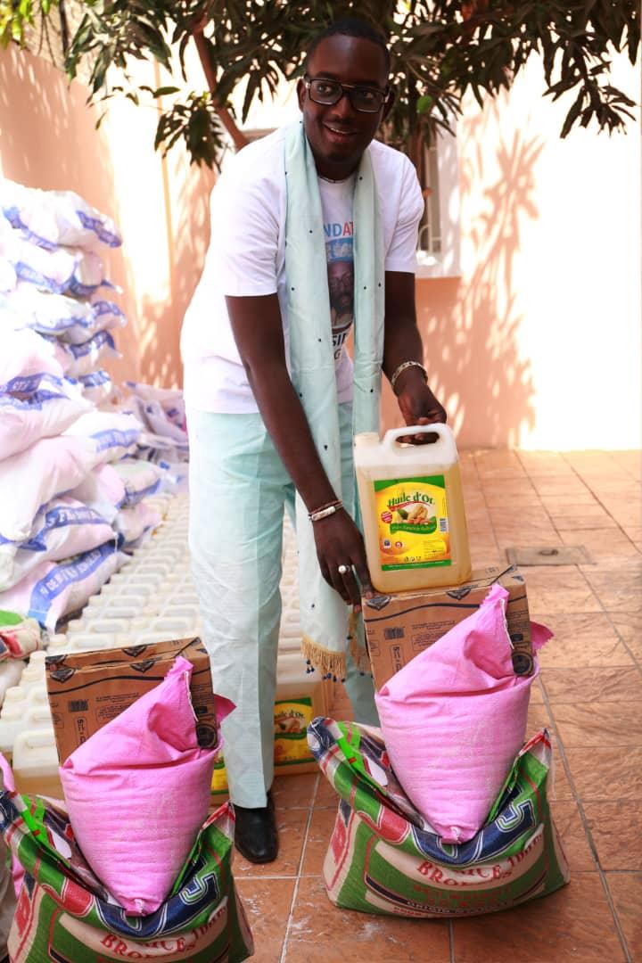 Solidarité Ramadan : La Fondation Bassirou Diagne remet des vivres
