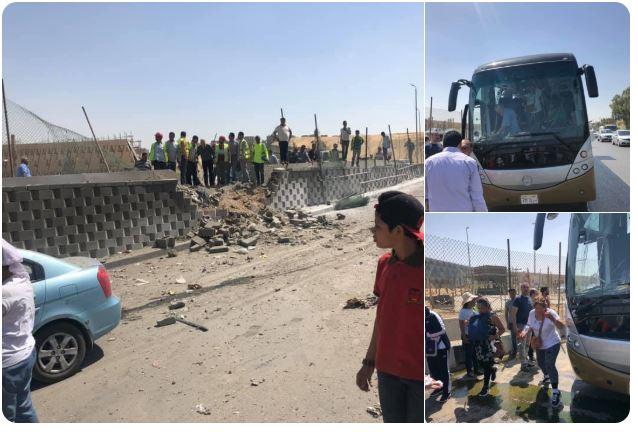 Egypte : explosion contre un car de touristes près des pyramides de Gizeh, des blessés