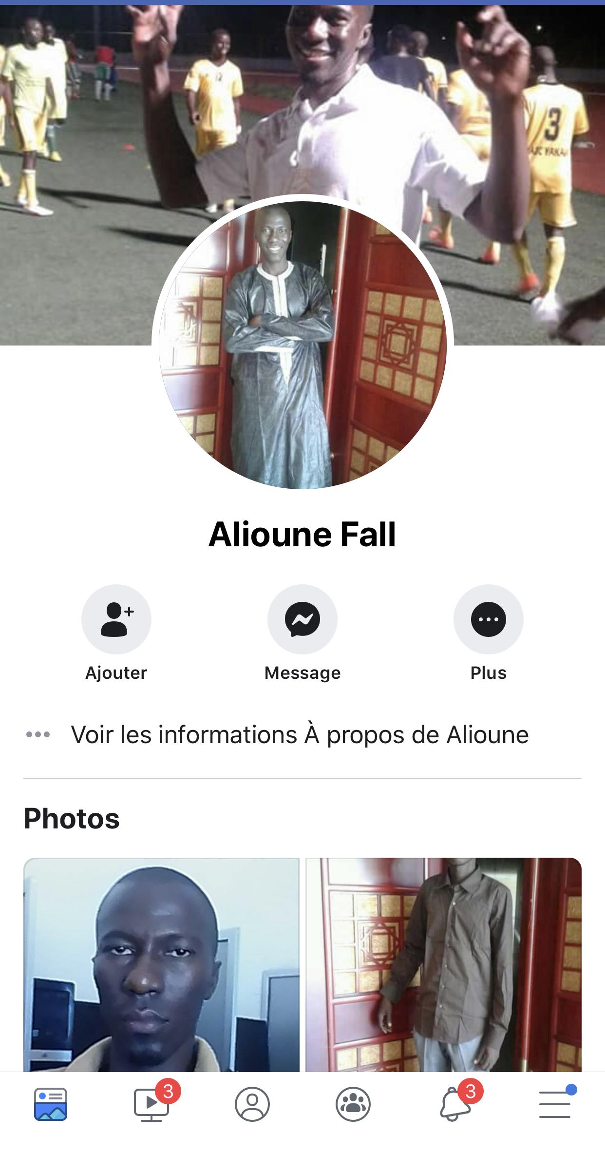 Identification de Pape Alioune Fall : Facebook mis à profit dans l'affaire du meurtre de Bineta Camara