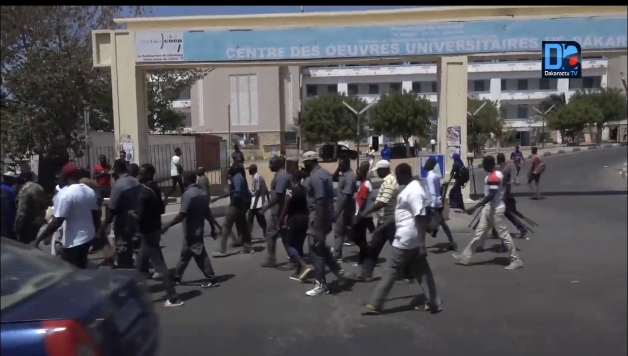 Ucad / Agressions contre des journalistes : Baïdy Mboup cameraman de la 2stv blessé
