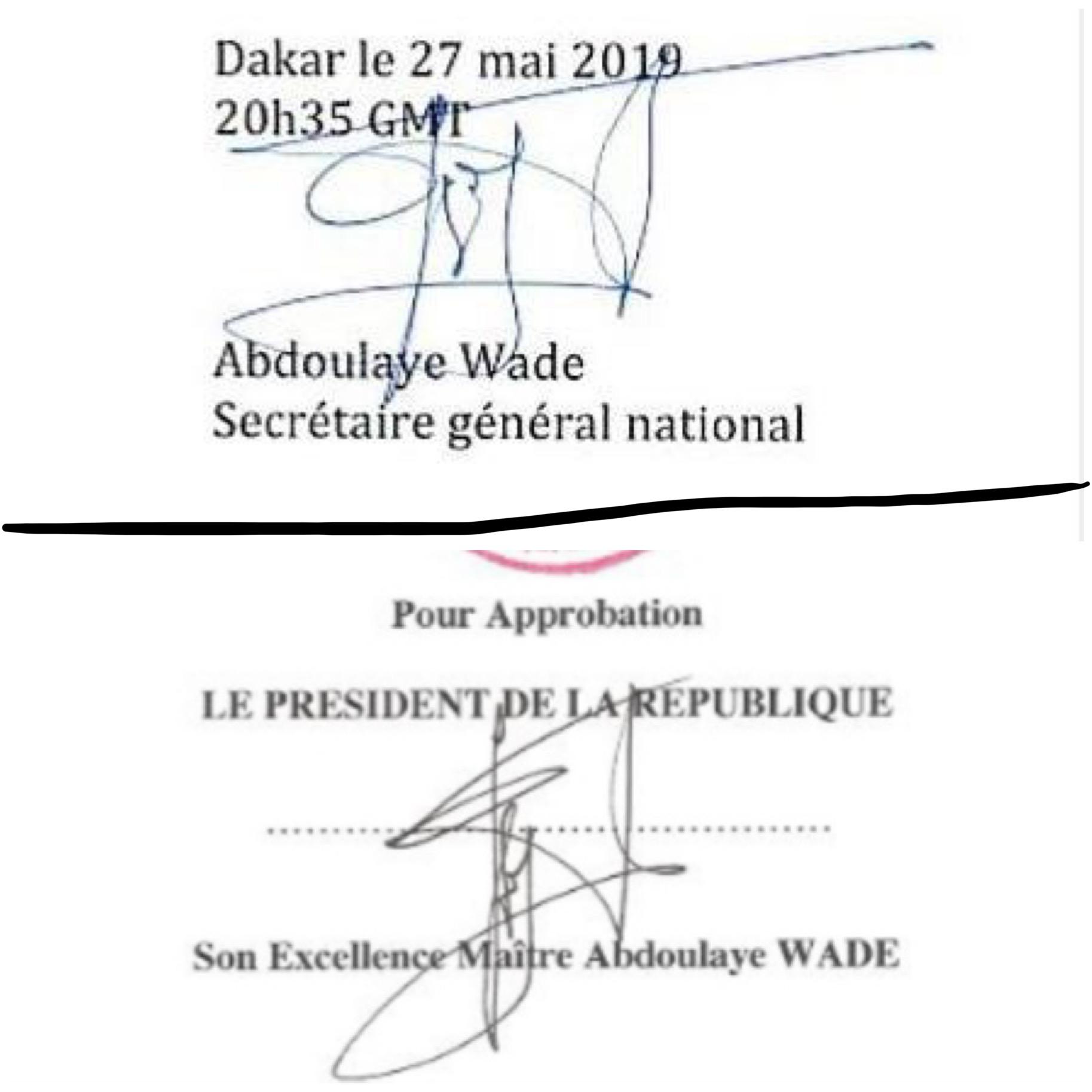 LE PDS, PREMIÈRE VICTIME DU DIALOGUE / Entre le communiqué 'dit' de Wade et la participation annoncée d'Oumar Sarr aux échanges... L'inéluctable implosion d'un parti déjà déchiré!