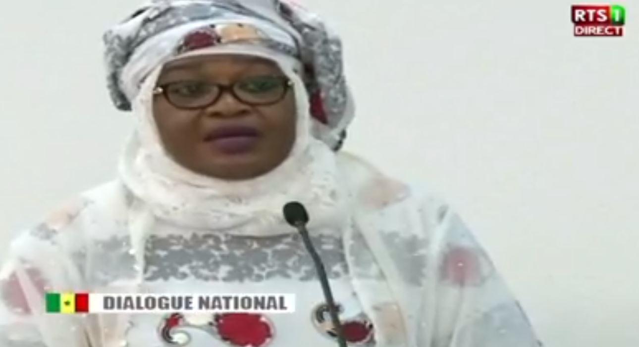 Dialogue national : Les mises au point et demandes formulées par Aïda Mbodj
