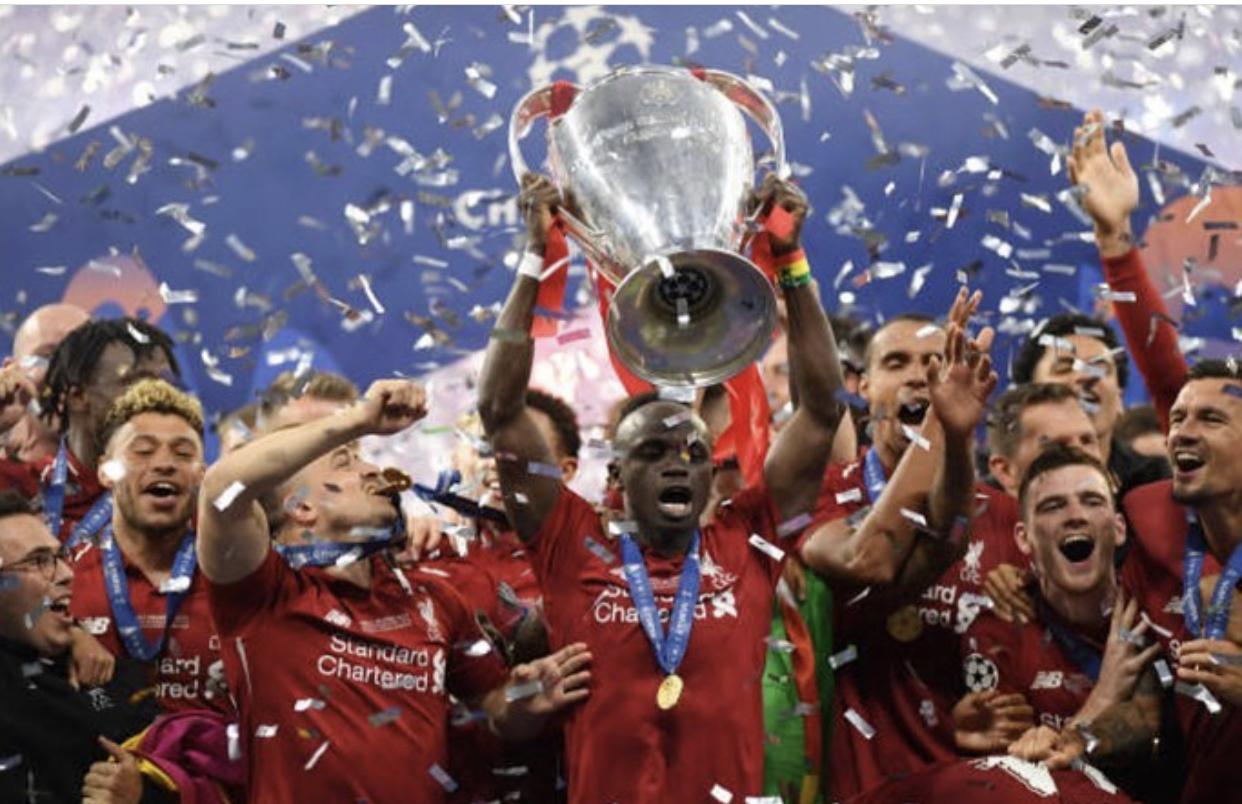 Sadio Mané et Liverpool remportent la Ligue des Champions.