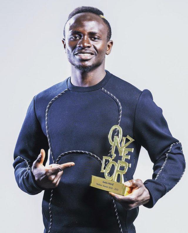 Distinction : Sadio Mané remporte le Onze d'Or 2019 !