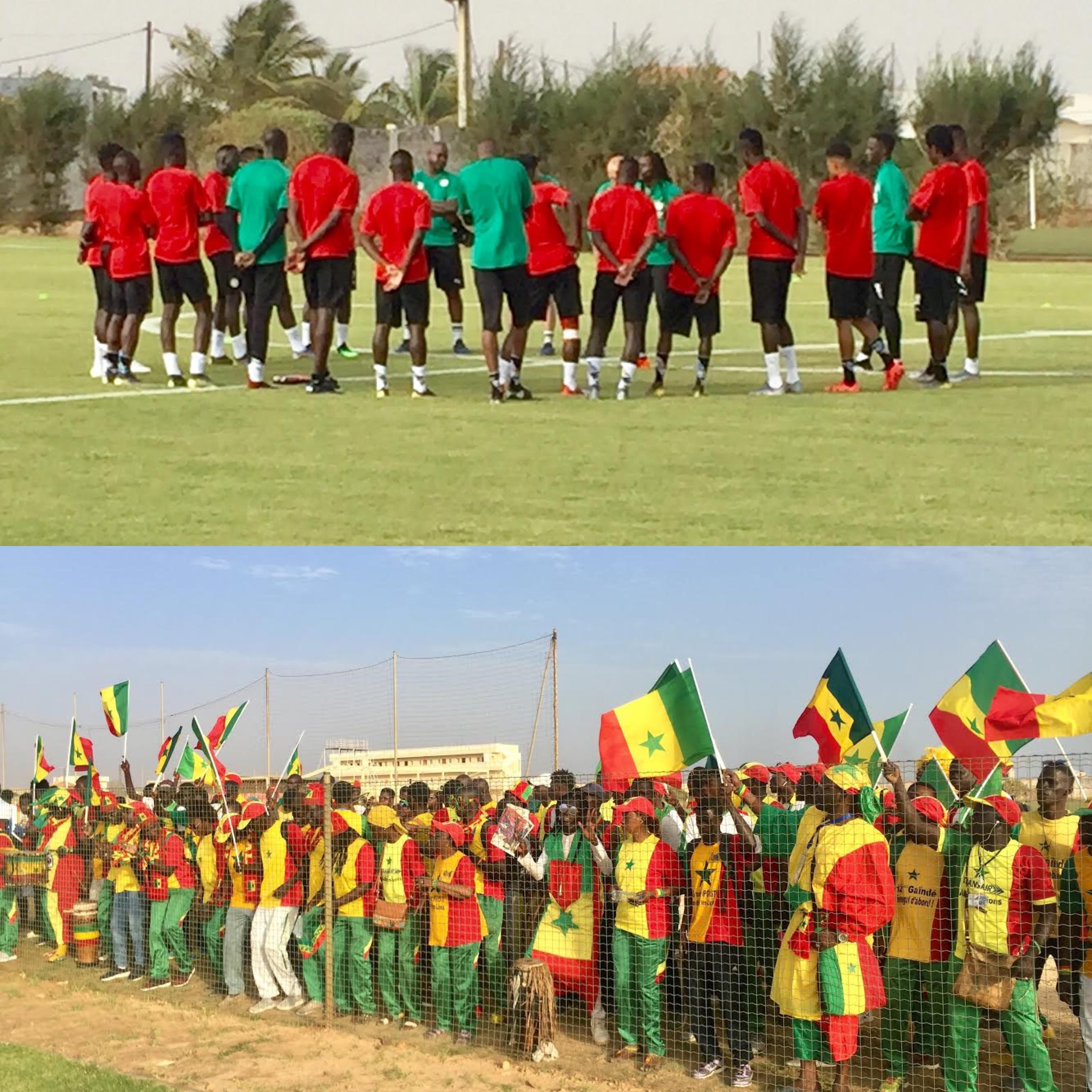 3e Galop des Lions à Diambars : Une bonne ambiance lors de l'entraînement ouvert au public