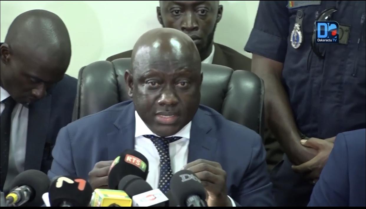 Le Procureur s'explique : « Le dossier n'a pas été juste déclenché parce que le nom de Aliou Sall a été cité »