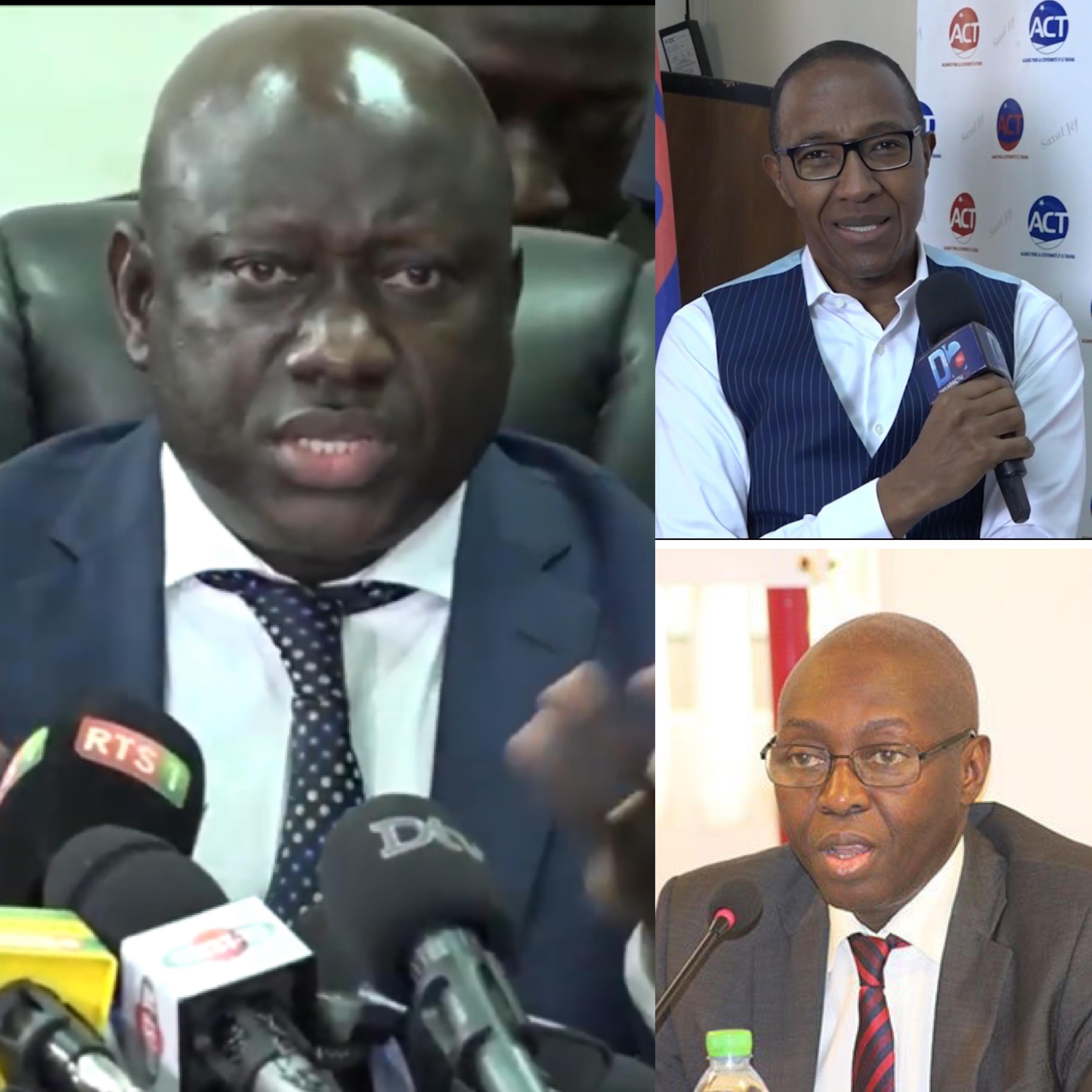 """Serigne Bassirou Guèye rassure Abdoul Mbaye et Mamadou Lamine Diallo : """"On n'a pas en perspective des arrestations ou de l'intimidation..."""""""