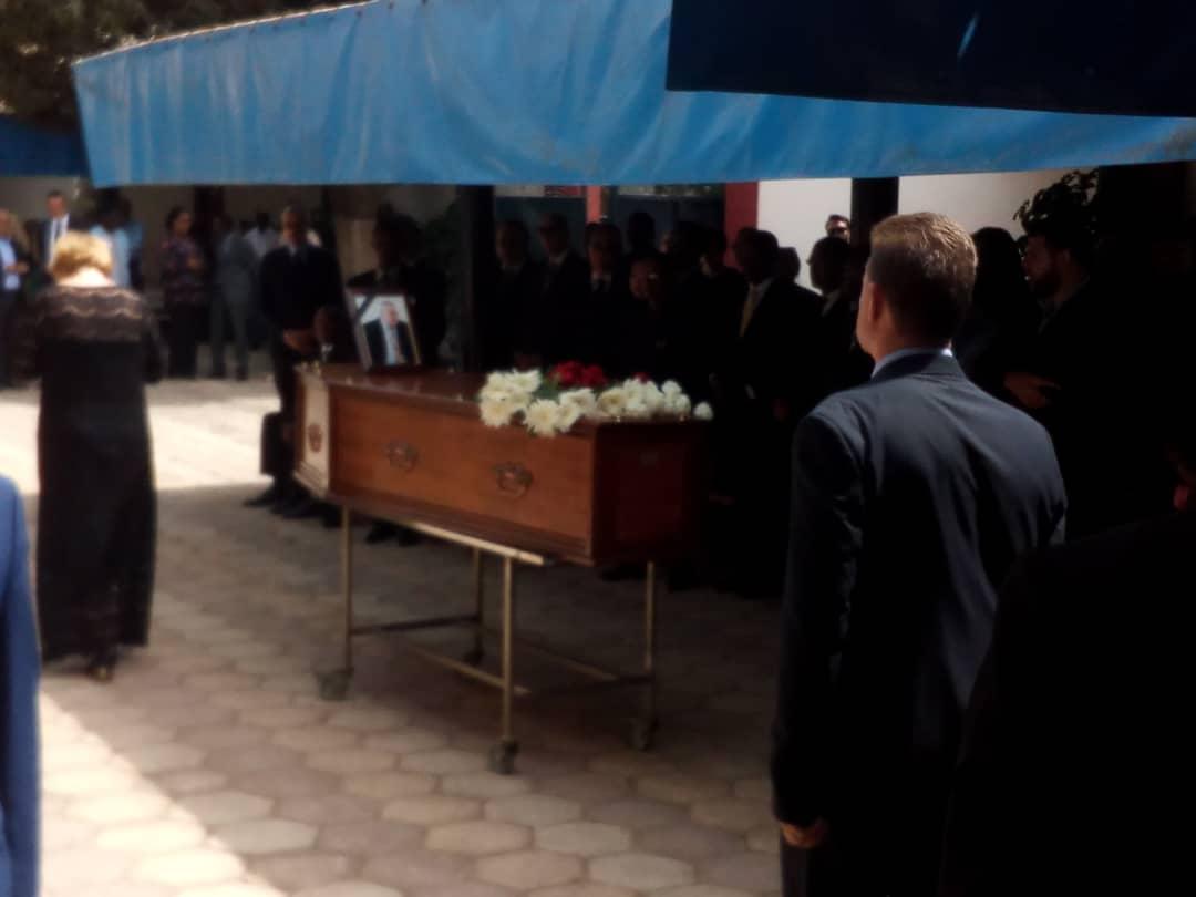 Levée du corps de Sergey KRYUKOV à l'hôpital principal : Adieu Excellence!