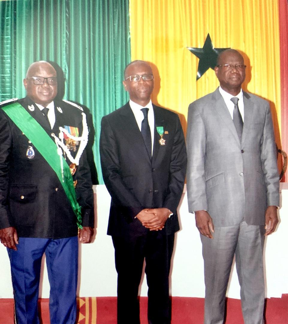 Distinction : Birima Mangara, élevé au grade d'officier de l'ordre national du Lion.