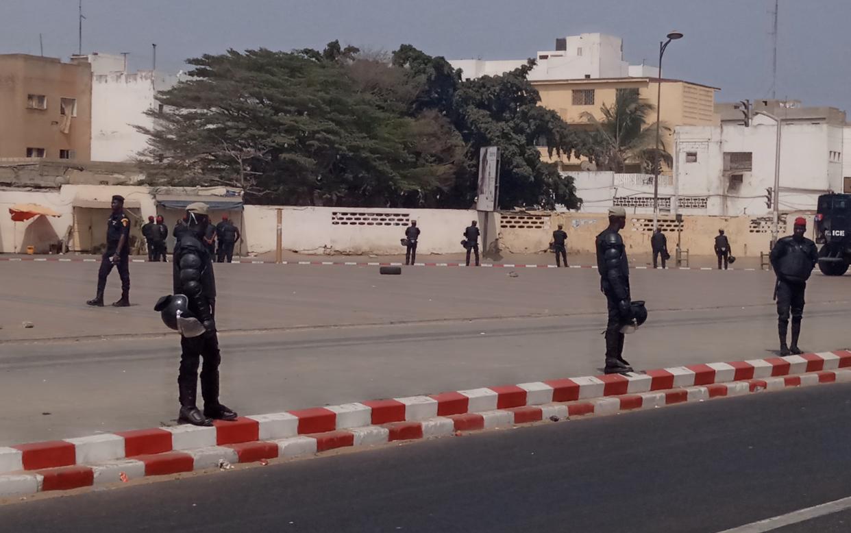 Place de la Nation / Manifestation de «Aar Li Nu Bokk» : Un dispositif sécuritaire, bien en place!