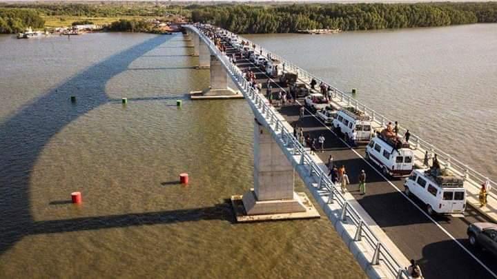 Fermeture du pont de Farafégny à partir de ce 15 juin 2019 jusqu'au 30 de ce mois.