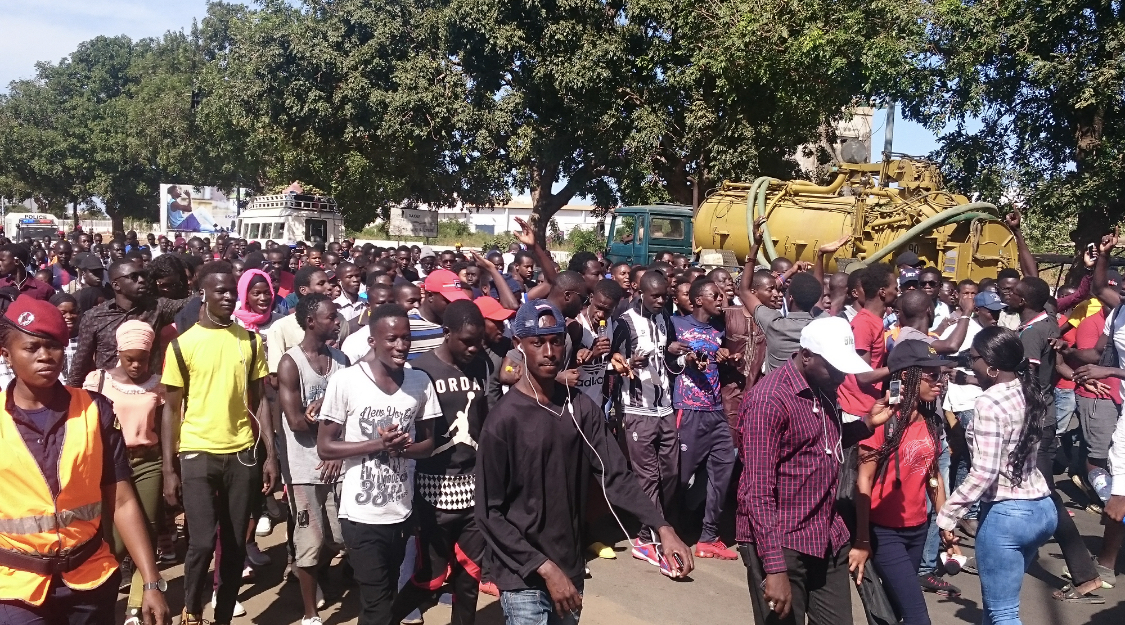 Kaolack : Les étudiants de l'UVS se sont frottés aux policiers